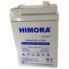 باطری جاروشارژی مدل HIMORA–SLA-6v-4.5A کد : NK-61303