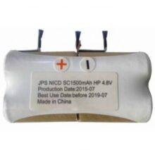 باطری جاروشارژی مدل SC*4-4.8 v-1500mAh کد : NK-61306