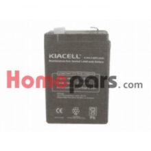 باتری کتابی ۶ ولت – ۲/۸ میلی آمپر کد : NK-96114