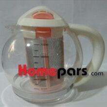 قوری چای ساز سفید – مشکی کد : NK-62069