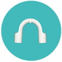 عصایی خروجی لباسشویی حایر کد : NK-89772