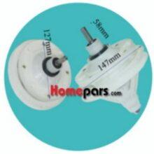 گیربکس دوقلو لباسشویی شارپ (چهارگوش – ۳۰mm) کد : NK-89822